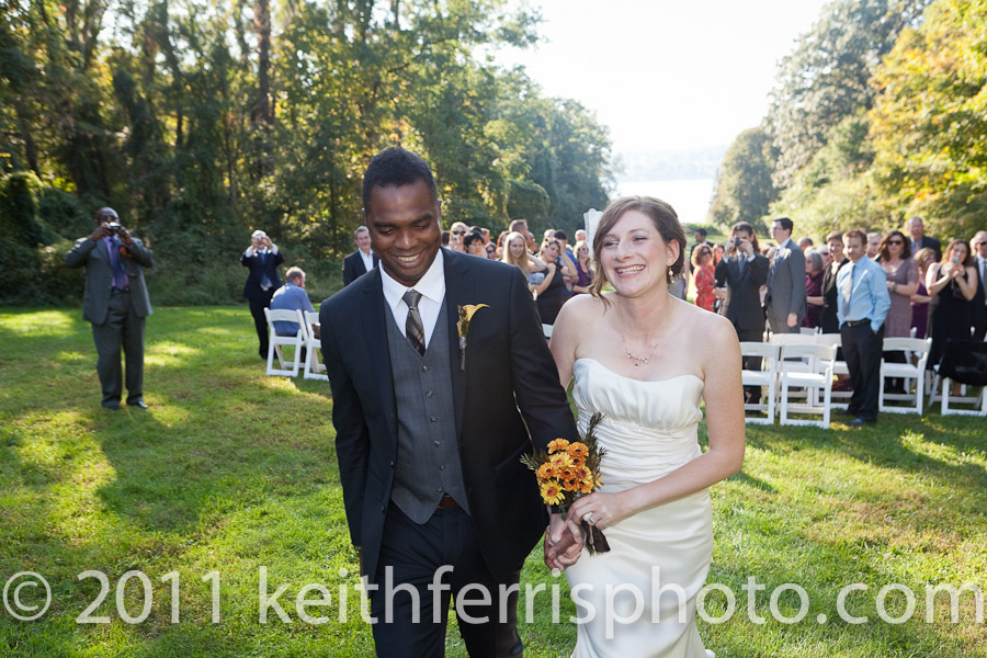 just married in the hudson valley