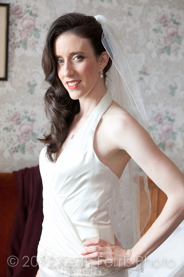 bridal portrait at mohonk mountain house