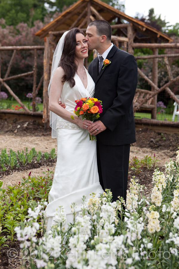 mohonk wedding outside