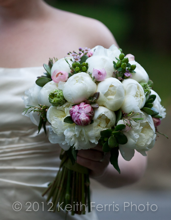 peonies from Green Cottage at High Falls wedding Shadow Lawn