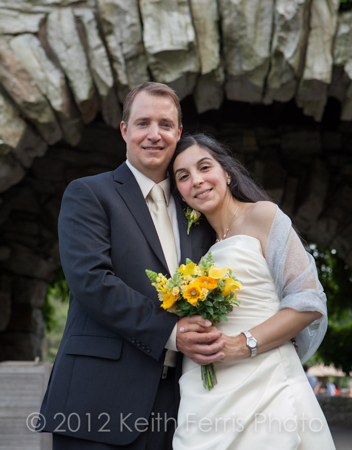 formal wedding photos at Mohonk