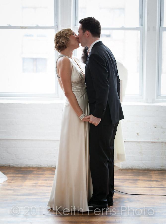 queens NY wedding ceremony photo