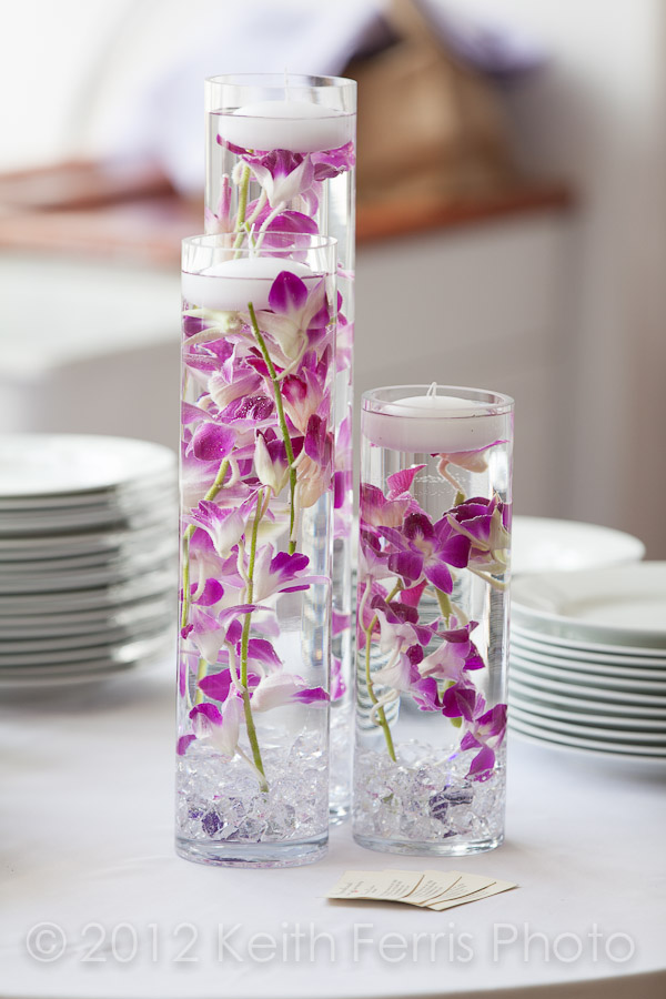 LIC homemade flower centerpieces