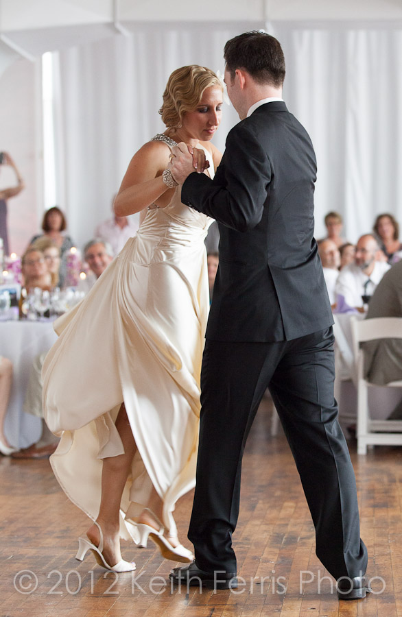 first dance BKNY wedding photographer