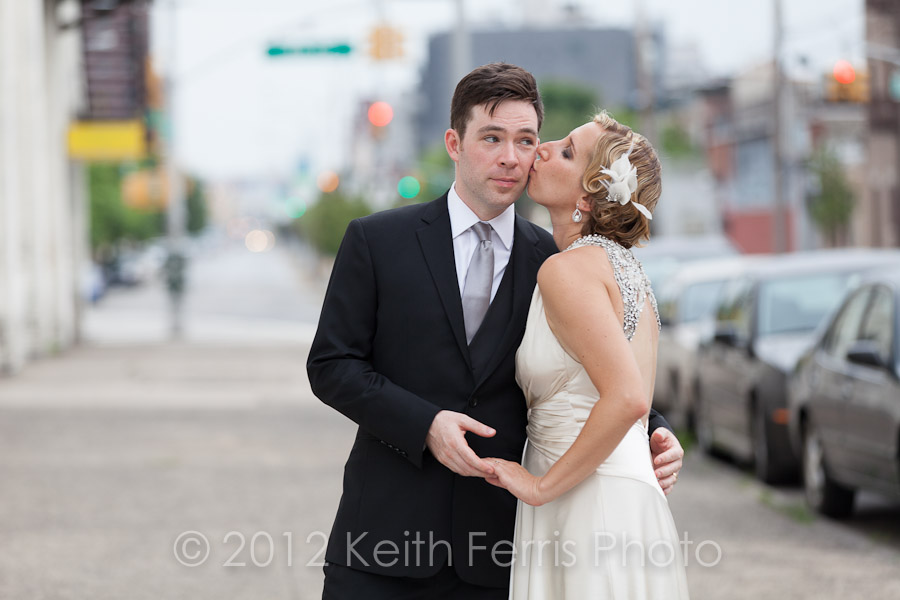 Pulaski bridge wedding photos