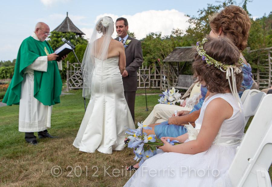 Mohonk garden wedding