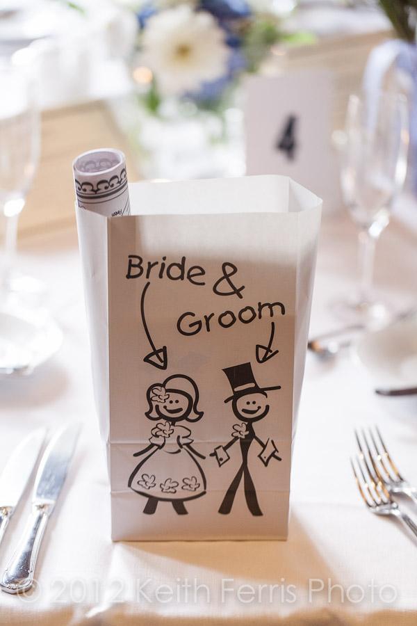 Wedding favor bag for kids