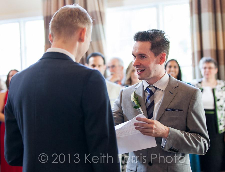 Emerson gay wedding