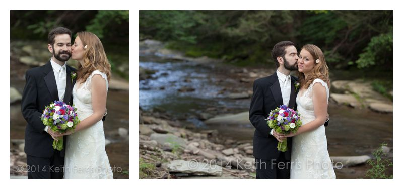 Esopus Creek wedding photos