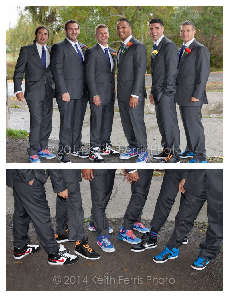 wedding party sneakers