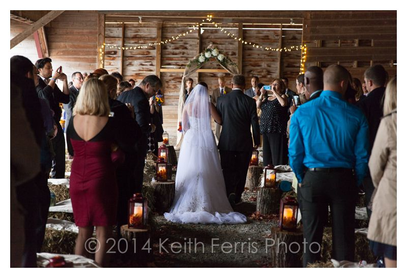 Hillsdale barn wedding