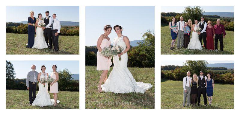outdoor formal family photos