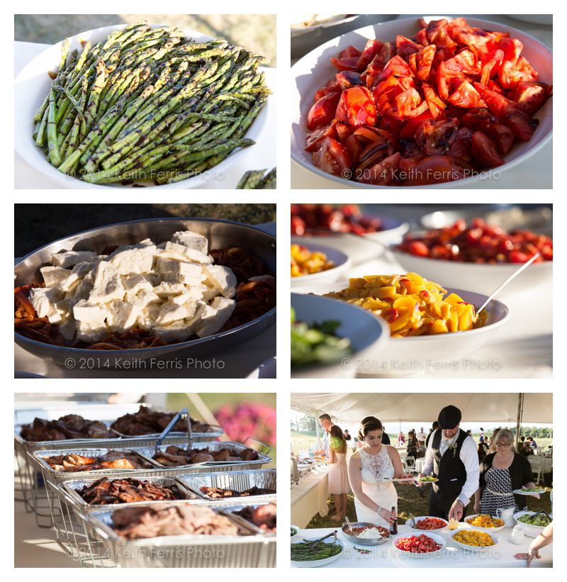 wedding food buffet style