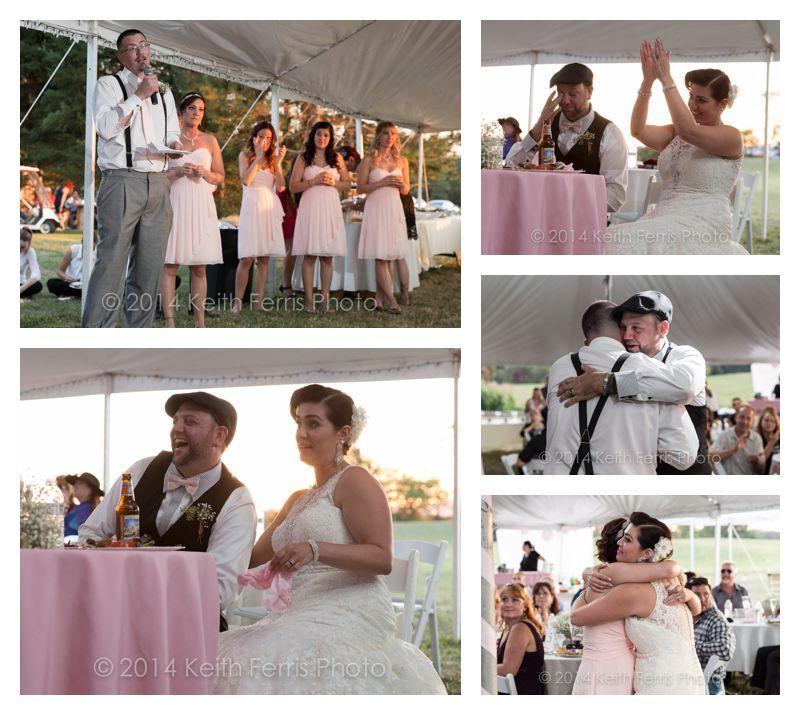tent wedding speeches