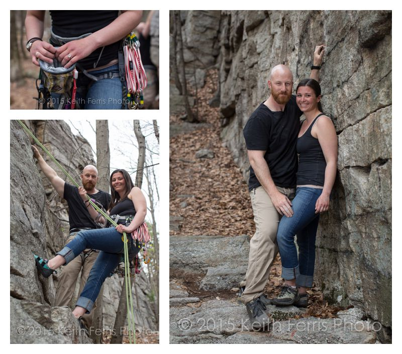Gunks Climbing Engagement Shoot