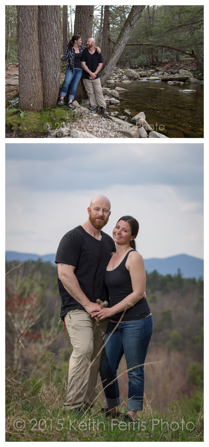 Gunks engagement shoot