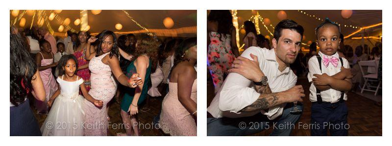 Catskills wedding party photos