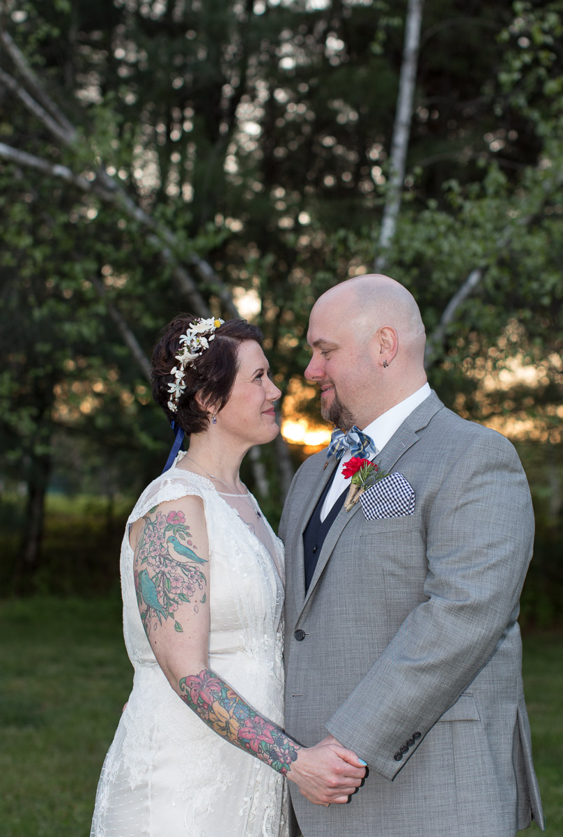 ElmRock Inn wedding portrait