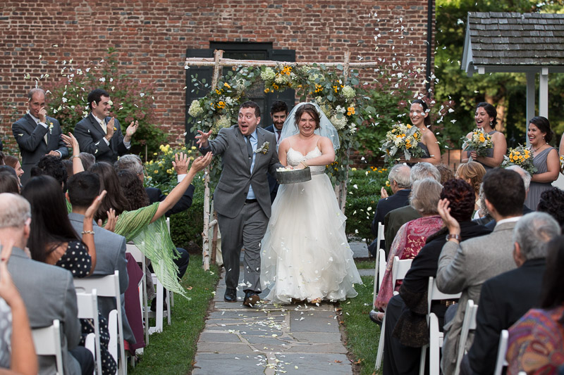 senate garage wedding ceremony