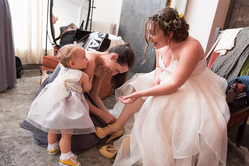 senate garage bridal suite