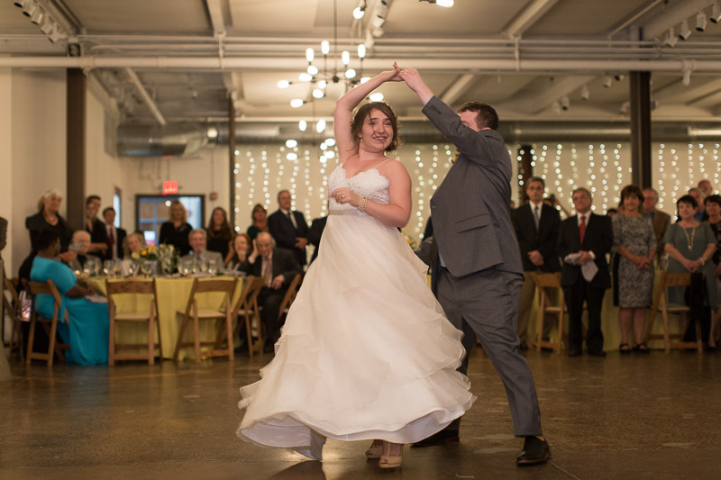 first dance at senate garage