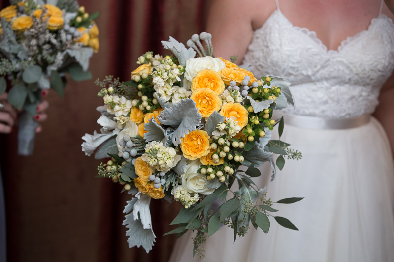 yellow and grey flowers