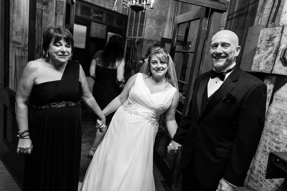 b&w wedding photographer NYC