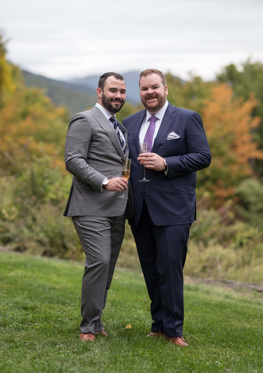 hudson valley gay wedding photographer