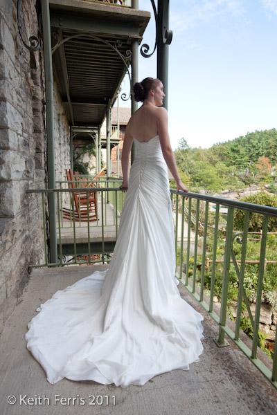 castkills bridal portrait