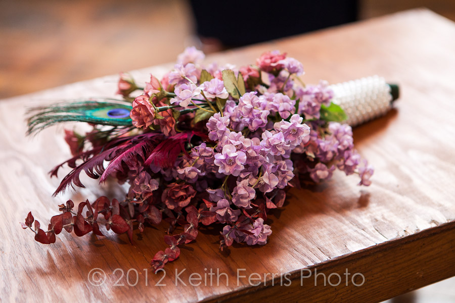 homemade wedding bouquet