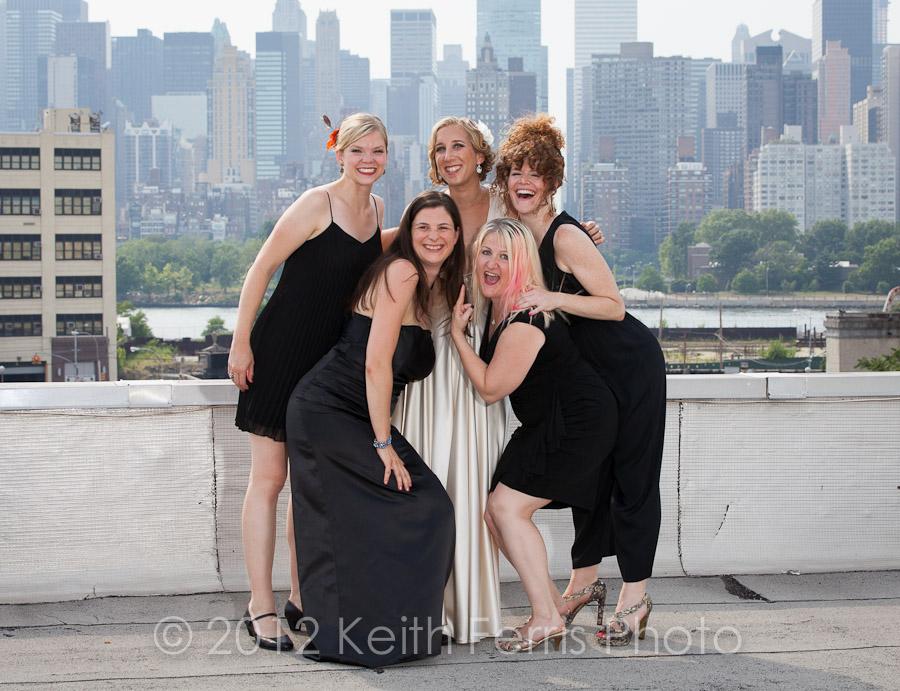 LIC rooftop wedding