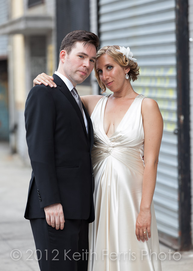 NYC hipster wedding photography