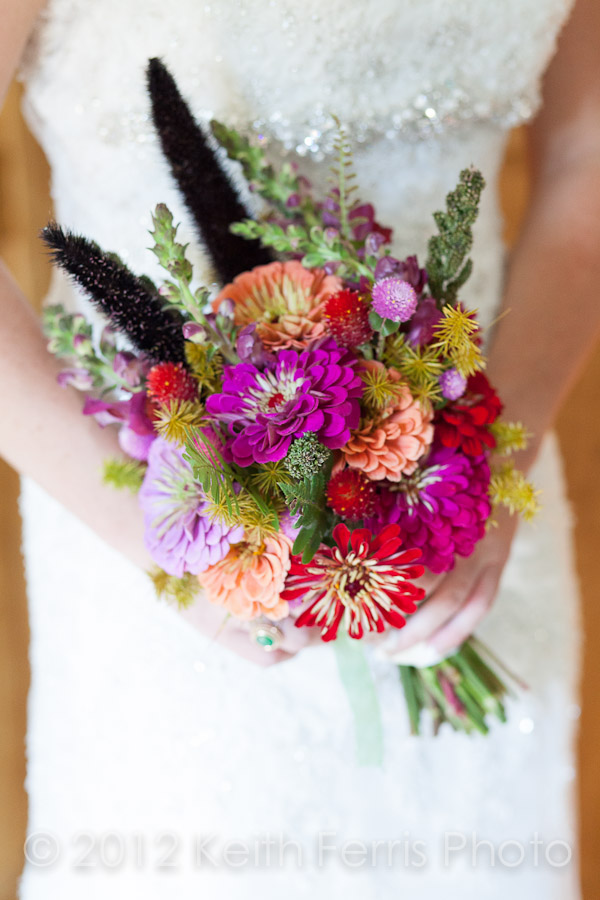 gorgeous bridal bouquet photo