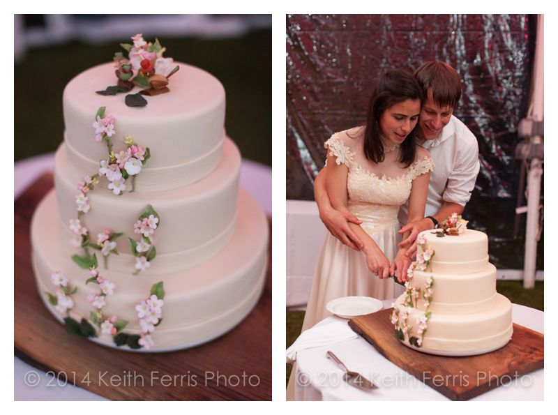 Brown Butter Baking Company wedding cake