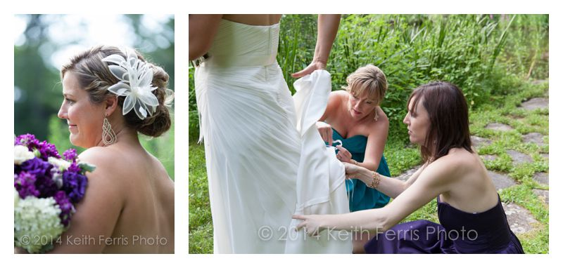 Hudson Valley wedding photojournalism