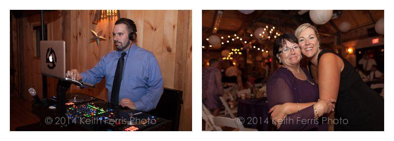 Hudson Valley wedding DJ Lou Paris with Paris Creative