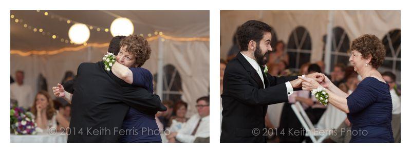 Full Moon wedding parent dances