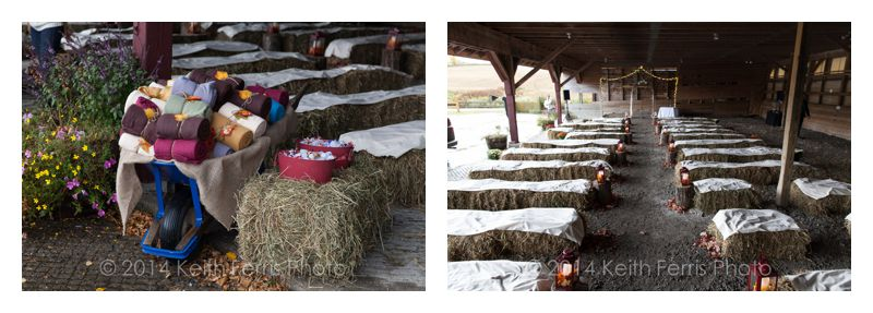 Roeliff Jansen Park wedding setup