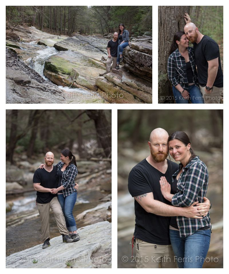 Minnewaska engagement shoot