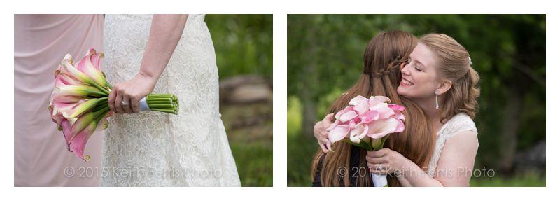 beautiful cala lily bridal bouquet